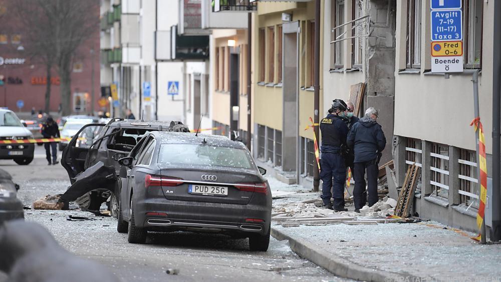 Explosion In Stockholm