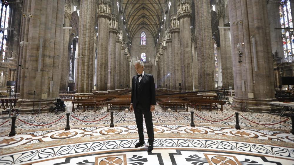 Andrea Bocelli Mailänder Dom