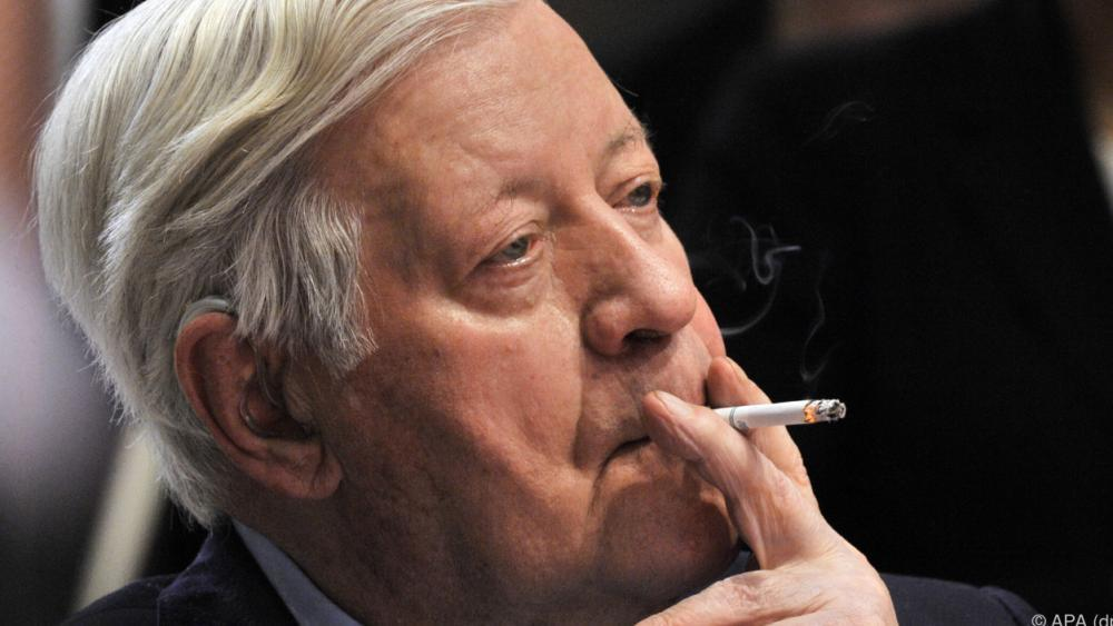 Helmut Schmidt Zigarette