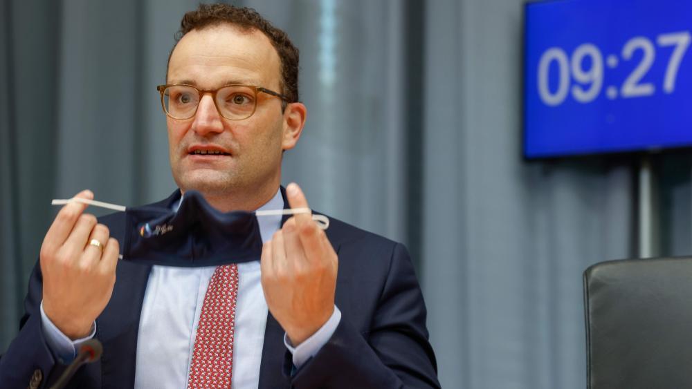 Deutscher Gesundheitsminister Jens Spahn positiv auf ...