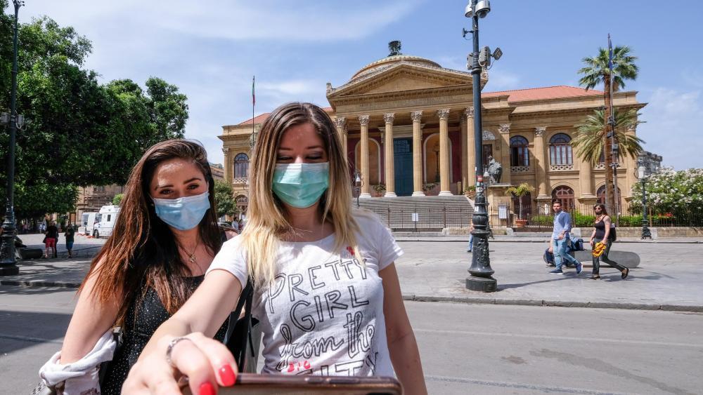 Maskenpflicht Italien Auto