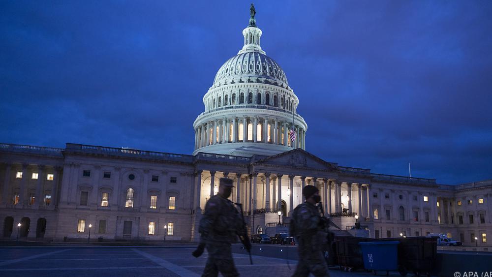 US-Kapitol wegen kleinen Brandes kurzfristig abgeriegelt