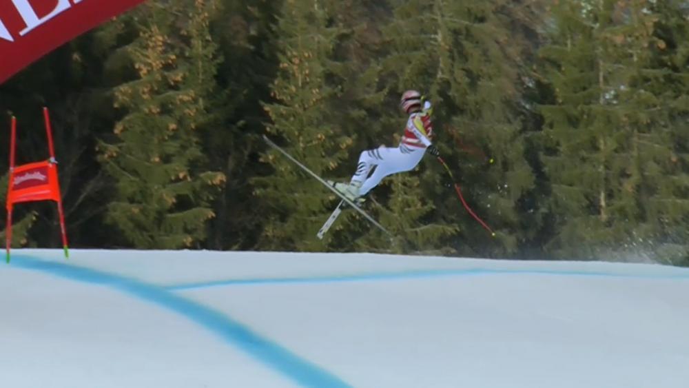 Sturz Garmisch