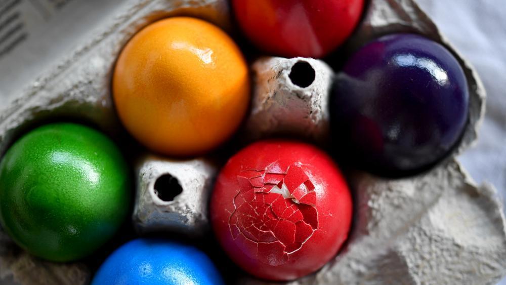 Eier Entleeren