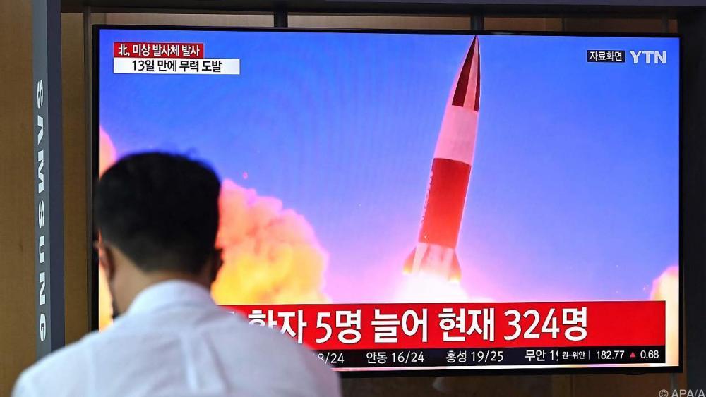 Nordkorea feuert offenbar Kurzstreckenrakete ab