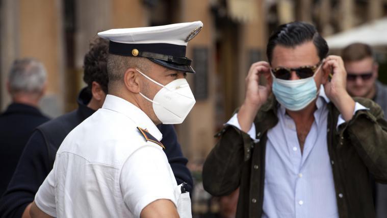 Italien Maskenpflicht Im Freien